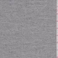 *3 1/2 YD PC--Mottled Grey/Ivory Wool Gabardine