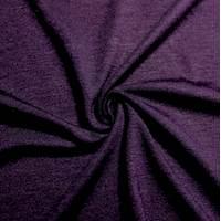 *2 3/4 YD PC--Eggplant Purple Jersey Knit