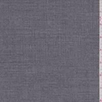 *5 1/2 YD PC--Heather Grey Wool Flannel
