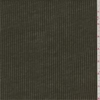 *3/4 YD PC--Dark Olive Jersey Rib Knit
