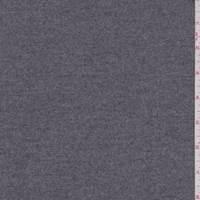 Medium Heather Grey Wool Flannel