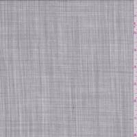 Ivory/Grey Wool Tropical Weight Suiting