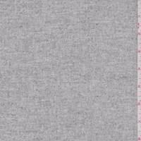Ivory/Grey Wool Tweed Suiting