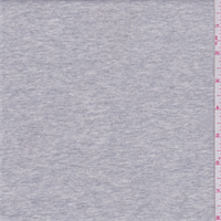 *1/2 YD PC--Heather Grey French Terry Knit