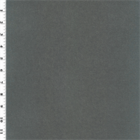 *6 YD PC--Designer Iron Gray Faux Suede Performance  Decorating Fabric