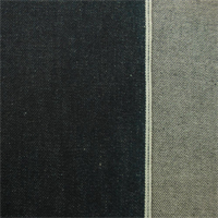 *2 YD PC--Dark Blue Cotton Selvedge Denim
