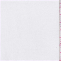 *2 7/8 YD PC--White French Terry Knit