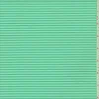 Seafoam Green Rib Tricot Knit
