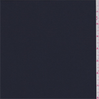 *2 1/2 YD PC--Midnight Navy Polyester Suiting