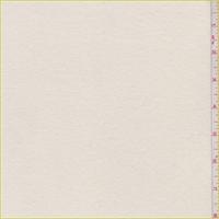 *3 3/8 YD PC--Cream Interlock Knit