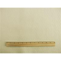 *1/2 YD PC--Ivory Wool Blend Melton Coating