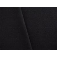 *1 3/4 YD PC--Black Wool Blend Flannel