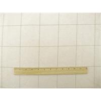 *1 1/2 YD PC--Ivory/Beige Grid Twill Home Decorating Fabric