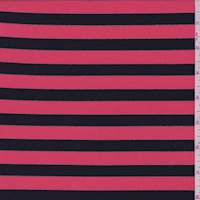 Pale Red/Black Stripe Activewear