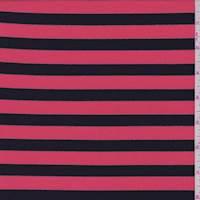 Pale Red/Black Stripe Activewear