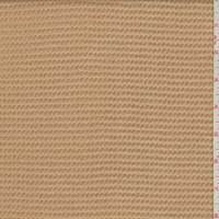 Beige Wool Brushed Textured Jacketing
