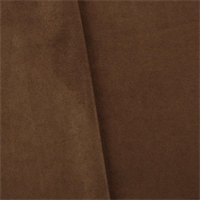 *5 YD PC--Mahogany Brown Faux Suede