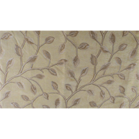 *3 YD PC--Bartson Beige  Chenille Jacquard Decorating Fabric