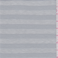 *5 3/4 YD PC--Mirage Grey Stripe Jersey Knit