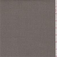 *2 3/8 YD PC--Mushroom Brown Cotton Canvas