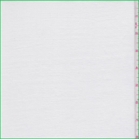 *1 YD PC--Creamy White Polyester Rib Knit