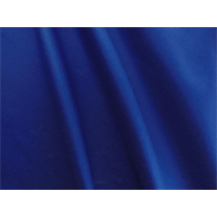 *1 5/8 YD PC--Sapphire Blue Stretch Poplin Suiting