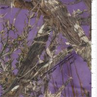 *7/8 YD PC--True Timber MC2 Purple Microfleece