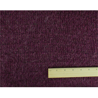 *3/4 YD PC--Berry Purple Wool Sweater Knit