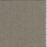 Beige/Olive Herringbone Flannel