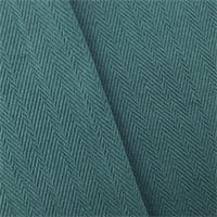 *2 1/4 YD PC--Cornflower Blue Cotton Herringbone Home Decorating Fabric