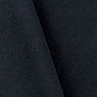 Blue Black Wool Sparkle Boucle Rib Jacketing