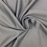 *1 1/4 YD PC--Gray Scuba Knit