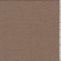 Caramel Brown Tweed Wool Suiting