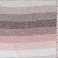Sand/Beige/Clay Stripe Sweater Knit