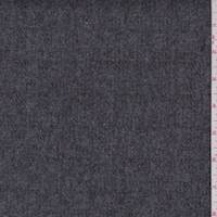 Heather Grey Wool Blend Coating