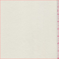 *4 YD PC--Whisper White French Terry Knit