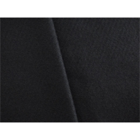 *2 1/2 YD PC--Black Wool Blend Melton Coating