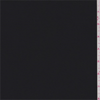 *1 1/4 YD PC--Black Tricotene Suiting