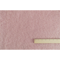 *1 YD PC--Pink Wool Fur Pile Knit Coating