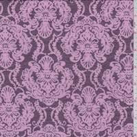 Plum/Pink Baroque Jersey Knit