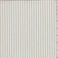 Buff Stripe Cotton Shirting