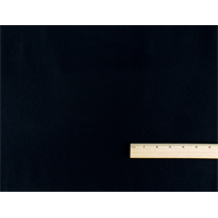 *3 1/2 YD PC--Blue Black Wool Melton Gabardine