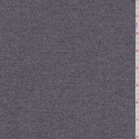 *2 5/8 YD PC--Medium Heather Grey Wool Flannel