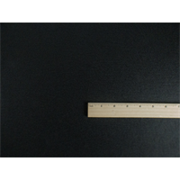 *1 YD PC--Black Wool Ponte Knit