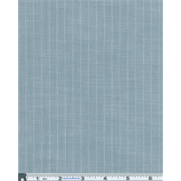 *3 5/8 YD PC--Light Blue Slub Texture Pinstripe
