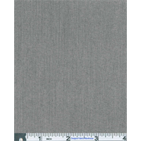 *3 1/4 YD PC--Grey Stripe Micro Suiting