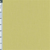*4 7/8 YD PC--Yellow Green Pebble (10 oz) Linen Decorating Fabric
