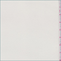 *1 1/8 YD PC--Buttercream Polyester Crepe Knit