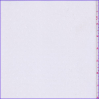 *2 YD PC--White Diamond Leno Chiffon