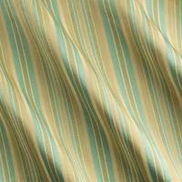 Green/Beige Stripe Home Decorating Fabric